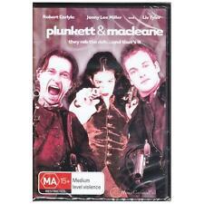 DVD PLUNKETT & MACLEANE Robert Carlyle Jonny Lee Miller Action Crime R4 [BNS]