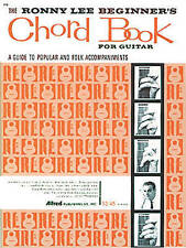 The Ronny Lee Beginner's Chord Book: A Guide to Popular and Folk Accompaniments