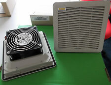 "Fan & Filter 200mm 8"" 110 Vac 177mm cutout IP54 FANDIS FPF13KPR115BE x 1pc ONO"