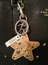 New Coach Stardust Star Bag Charm F21394