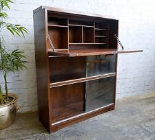 Vintage Retro 60s Mid Century MINTY Bureau Bookcase Work Station Writing Desk