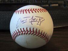 Omat Infante Autograph / Signed Baseball PSA Kansas City Royals, Tigers, Braves