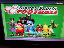 Disney Sports Football ~ Game Boy Advance ~ GBA ~ CLEAN & TESTED ~ MICKEY MOUSE