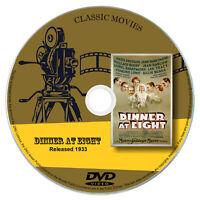 Dinner At Eight (1933) - Marie Dressler, John Barrymore - Comedy, Drama DVD