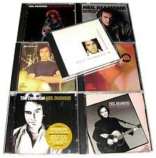 RARE - NEIL DIAMOND 8 CD LOT COLLECTION SET (6 ALBUMS + 2 CD COMPILATION)