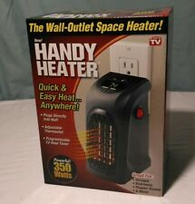 AS SEEN ON TV Handy Heater Plug-In THE WALL OUTLET SPACE HEATER 350 WATTS (NEW)