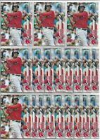 2020 Topps Series 1 Rafael Devers (20) Card Bulk Lot #314 Boston Red Sox