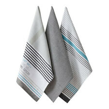 Ladelle Set Of 3 Kitchen Towel - Eat Well - Tea/Kitchen Towel/Dishcloth