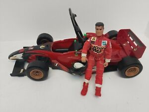 Collectable Action Man Racing Car with Figure and Outfit Z1