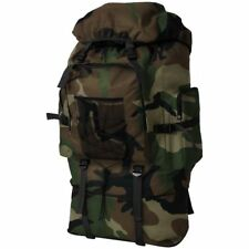 Vidaxl Zaino Stile Militare XXL 100 L Verde