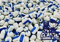 14mm x 10mm pop up boilies x 20 White Chocolate /& Cream dumbell fishing bait
