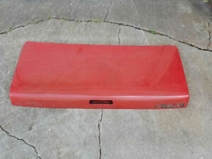 mazda rx-7 rx7 88-91 convertible rear trunk lid hatch