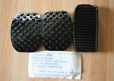 2 X COPRIPEDALI FRENO FRIZIONE FIAT 1100 103 PEDAL COVERS RUBBER 25191 U4//7