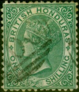 British Honduras 1874 1s Deep Green SG10a Fine Used