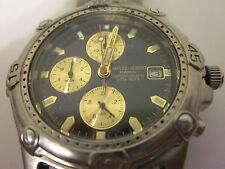 Pre Owned Charles Hubert, Paris, Titanium Watch For Men's,Japan Mt,Battery OPtd