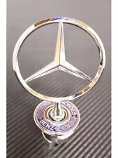 MERCEDES BENZ BONNET HOOD TRUNK BADGE STAR LOGO W210 SPRING MOUNTED C E S CLASS