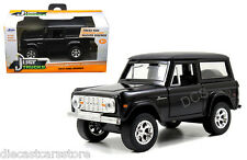 JADA  JUST TRUCKS 1973 FORD BRONCO BLACK 1/32 DIECAST CAR 97050