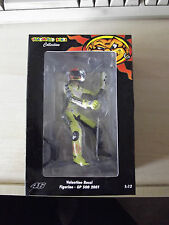 RARE LTD 7746Pcs MINICHAMPS SITTING FIGURE GP 500cc 2001 MOTOGP VALENTINO ROSSI
