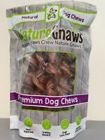 Nature Gnaws Large Bully Sticks 7-8 inch 12 Pack Premium Beef Dog Chews NEW