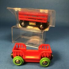 BRIO Car Transporter 33651 NEW in Package Vintage + Extra Car