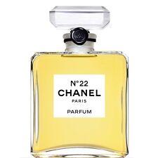 CHANEL NO 22 N°22 PARFUM PURE PERFUME 0.5OZ 15 ML NEW IN BOX SEALED VERY RARE
