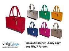 """FILZTASCHE """"Lady Bag"""" Einkaufstasche Handtasche Shopper Tasche Filz (7 Farben)"""