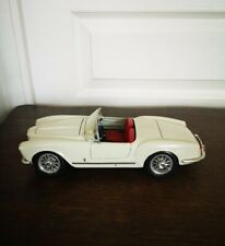 Miniature LANCIA AURELIA B24 SPIDER 1955 Bburago 1/18 Made In Italy Crème