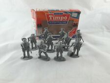 Toyway Timpo 10 Cowboy Figures with box 9502