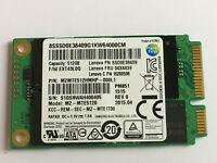 Samsung PM851 MZ-MTE5120 512GB mSATA SSD Lenovo PN:SSDOE38409,FRU:04X4439 SSD