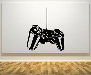 Playstation Controller Gamepad Pad Childrens Room Decal Wall Art Sticker Picture