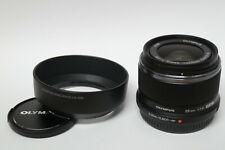 Olympus M.Zuiko Digital 1,8 / 25 mm  Objektiv schwarz gebraucht in ovp