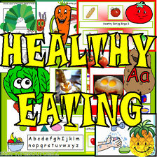 HEALTHY EATING  PRIMARY TEACHING RESOURCES EYFS KS1 Teacher resource TOPIC CD