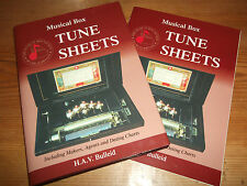 Book Musical Box Tune Sheets Plus Supplement Makers Agents Dating Charts Bulleid