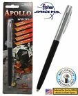 Fisher Space Pen #S251-BLK / Apollo Series Pen in Black & Chrome