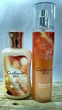 Cashmere Glow Body Lotion Shimmer Mist Bath & Body Works Used Free Shipping