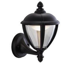 Firstlight 3400BK 6.5W Unite LED Uplight Lantern, Black 26cm H x 20cm D