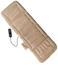 Shiatsu Massage Machine Pad Heat Therapy Vibration Massager Back Pain Relief New