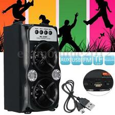 Portable Wireless Bluetooth Stereo Speaker Super Bass With USB/TF/AUX/FM Radio