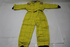 New G-Force 645 Karting Suit, Yellow, Child's Large