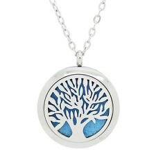 Aromatherapy (Tree Life) Essential Oil Diffuser Necklace - Mothers Day Gift Idea