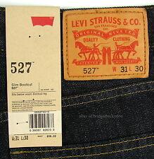 Levis 527 Jeans Mens New Slim Boot Cut Size 31 X 30 TUMBLED RIGID Levi's #1023