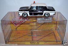 OLD NOREV  RENAULT 8 R8 PIE POLICE DE PARIS 1964/1966 1/43 REF 512605 IN BOX