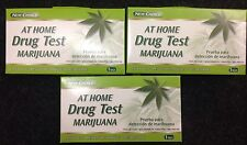MARIJUANA THC Home Drug Test Kit - One Step Urine Strip - LOT OF (3) - NEW!!!