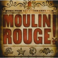CD SALE! ~ MUSIC FROM BAZ LUHRMANN'S FILM ~ MOULIN ROUGE ~ TERRIFIC CD!
