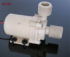 Solar DC 24V Hot Water Circulation Pump Brushless Motor Water Pump 6M New