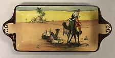 Rare Antique/Vintage Royal Doulton Series Ware Desert Scenes Sandwich Tray