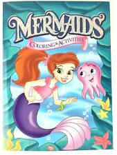 Mermaids Coloring & Activity Book for Kids