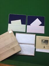 Textile Jewellery Pouches Benibana Dyeing & Weaving Japan In Timber Presentation
