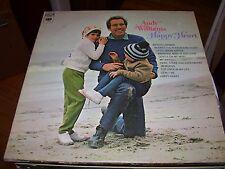 ANDY WILLIAMS-HAPPY HEART-LP-VG+-COLUMBIA TWO EYE-MEMORIES-WICHITA LINEMAN-MY WA