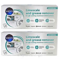 INDESIT Lavastoviglie calcare & Detergente Remover 24 x 50g BUSTINE 2 confezioni